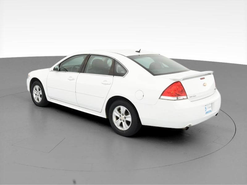 2014 Chevy Chevrolet Impala Limited sedan LS Sedan 4D White  6