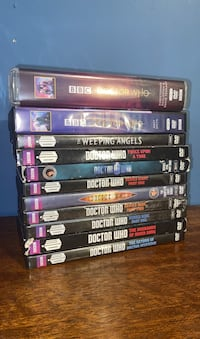 Doctor Who DVD Collection Des Moines, 50316
