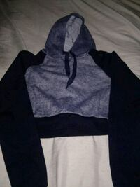 Navy blue cropped hoodie Providence, 02904