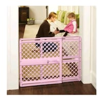 North States Supergate Classic Pink Baby Gate, 26' Lawrenceville, 30046