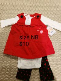 3 piece newborn outfit Burlington, L7M 0K7