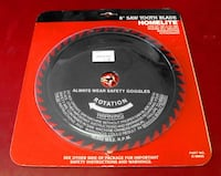 Homelite 8-Inch Saw Tooth Blade Norfolk