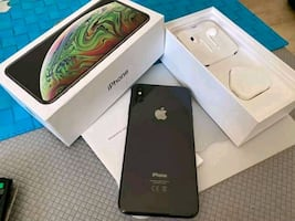 brand new space gray iphone xs max 256gb