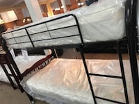 TWIN/ TWIN BUNK BED FRAME FLOOR MODEL SALE @3900 CHESTER AVE Bakersfield