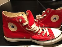 Red Converse High Men's Size 10 Silver Spring, 20910