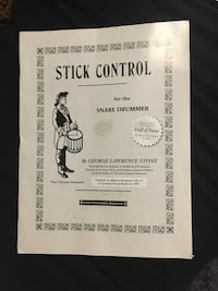 Stick Control for Snare Drummers book