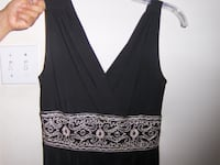 BLACK DRESS, PERFECT NEW CONDITION, SIZE 4 PETITE, WORN ONCE ONLY! MISSISSAUGA
