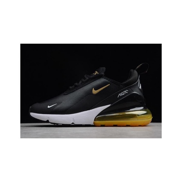 best service 242f0 2446b [any size] Nike Air Max 270 Premium Black/Yellow-White For Sale