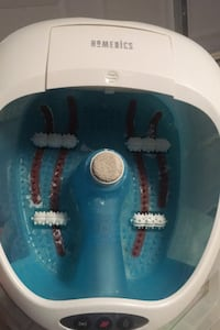 Home medics foot massage bath used once retails over $50