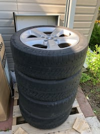 "BMW 17"" RIMS + TIRES Toronto, M2J 5A7"