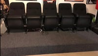 Movie Chairs with 5 chairs  Fredericksburg