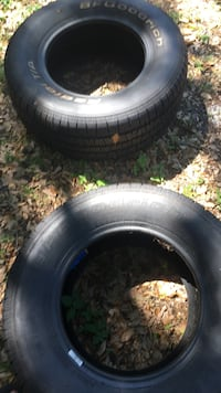 two black auto-wheels with tires Fort Lauderdale, 33315