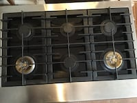 "New from scratch and dent Electrolux icon gas cooktop stainless steel 35"" wide excellent for an out door kitchen  Houston, 77075"