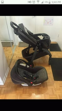 Stroller Graco with career and car basinet Montreal, H3V 1C8