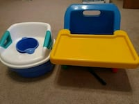 Training potty and baby booster chair Missouri City