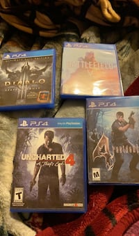 $40 for 4 PS4 games Las Vegas, 89110