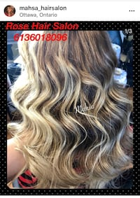 Colour and haircut special Ottawa, K1S 5J6