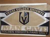 Golden Knights Man Cave Banner Las Vegas, 89148