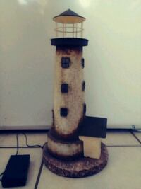 13 by 7 candle metal lighthouse Myrtle Beach, 29577