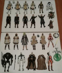Star Wars The Clone Wars Action Figures Port Coquitlam, V3B 7G7
