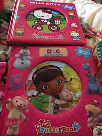 Hello kitty & doc mcstuffin puzzle books Bowie, 20720