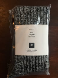 Over the Knee Texture Socks - Richer Poorer Toronto, M6H 3H3