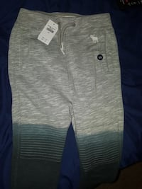 gray Abercrombie & Fitch space-dye sweat pants Duluth, 30096