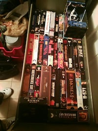 assorted VHS case lot ,1.50, each St. Catharines, L2R 3W8