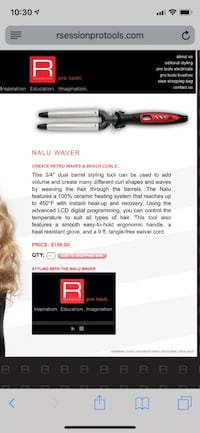 R session hair tools Prattville, 36067