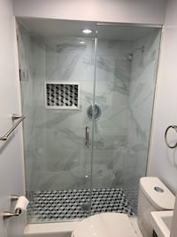 Frameless Glass Shower  Markham