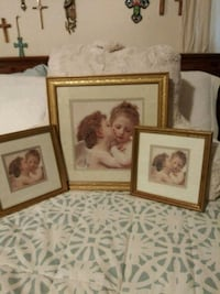 three brown wooden photo frames Frederick, 21704