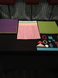Scrapbooking paper, pre cut paper and cutting devices all for this price. Neptune, 07753