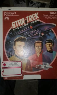 Star trek videodiscs  Winnipeg, R3E 1W3