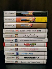 Nintendo DS / 3DS games in their cases Lynchburg, 24502