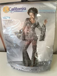 Foxy Lady Disco Costume - Adult XL (Worn once - includes pants, top, and head tie) Markham