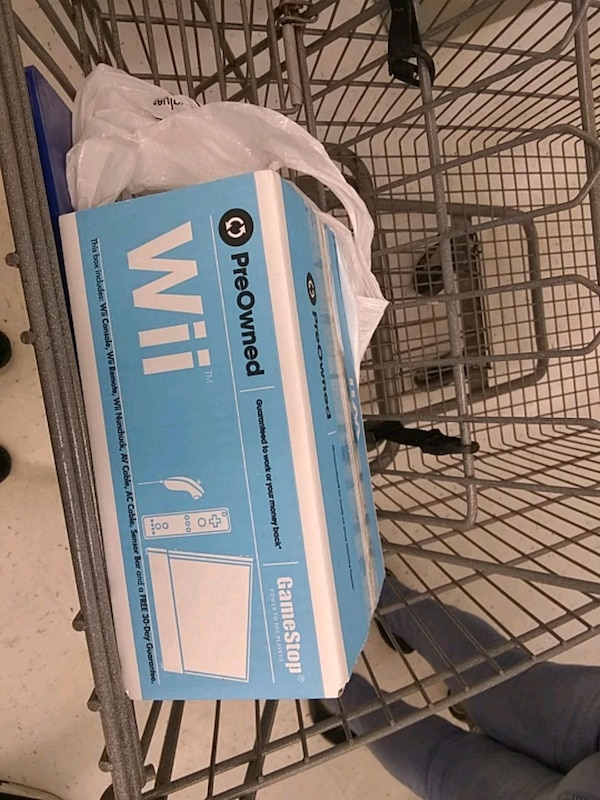Pre-owned wii system