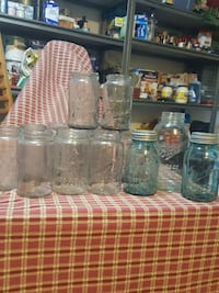 Late 1800's Original Mason jars