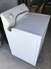 white top-load clothes washer Bakersfield, 93306
