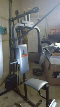 Full body work out gym system  in one !