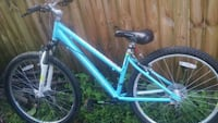 blue and black mountain bike Winchester, 22601