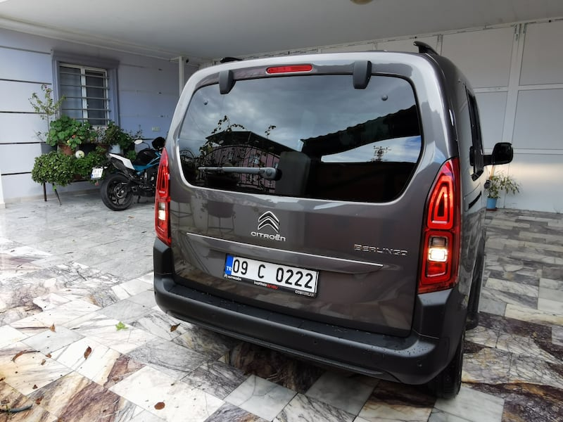 2020 Citroen Berlingo 2950 KM TEMİZ FULL 4