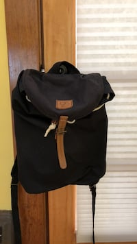 black and brown leather backpack Berkeley, 94709