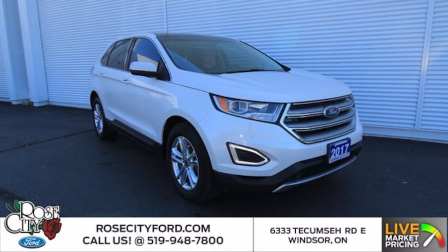 2017 Ford Edge SEL / ACCIDENT FREE / BACK UP CAM / REMOTE START / 0