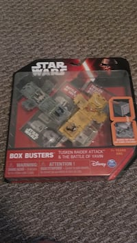 Star wars box buster package Kitchener, N2E 3P9