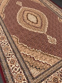 New Area Rug size 5x8 nice red carpet Persian design rugs and carpets  Springfield, 22153