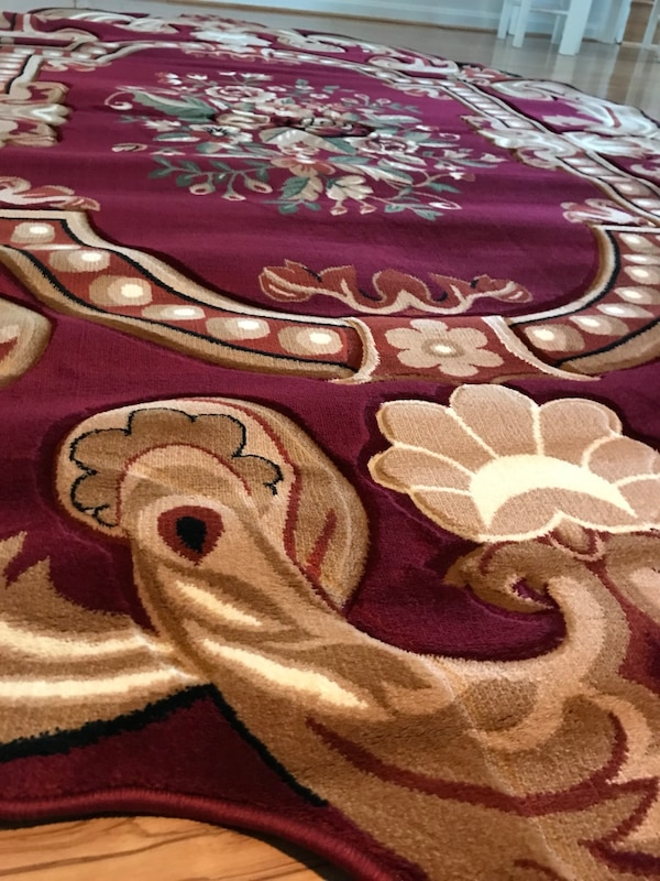Brand new heavy soft Area Rug size 8x11 nice Red Carpet Oval Area Rug 2ec8c4f3-bce0-4d1b-93a4-eebfc10a0e0e