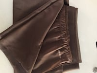 2 brown sheer panels 96inches long Las Vegas, 89117