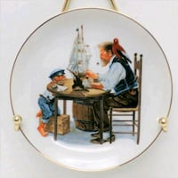 Norman Rockwell Collector Plate ki Markham, L3T 3H7