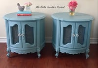 French Provincial Drum/Side Tables  Richmond Hill, L4E 4X2
