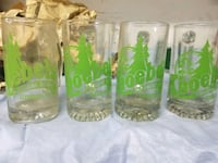 three clear glass beer mugs Lebanon, 17046